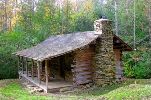 Swan cabin for Old rustic cabins